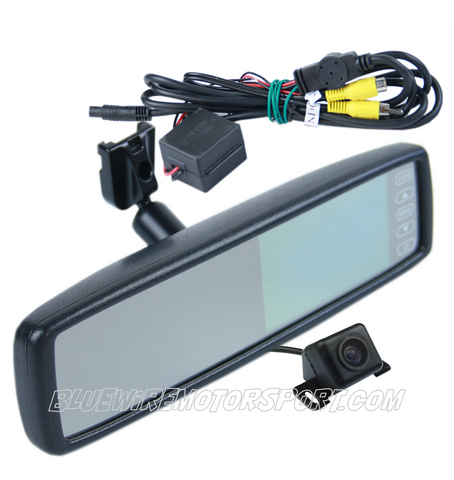 MIRROR MONITOR + CAMERA - NON GENUINE PART COMPATIBLE WITH FORD FALCON XA XB XC XE AU BA BF FG
