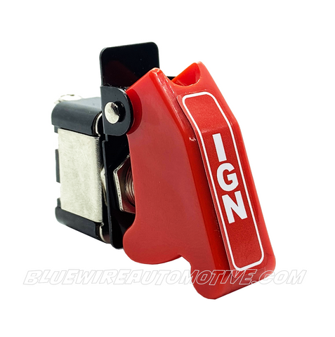 IGNITION MISSILE FLIP SWITCH-RED ON/OFF - BWASW0502IGN