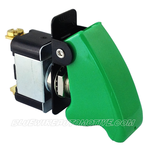 MISSILE FLIP SWITCH - GREEN ON/OFF - BWASW0504