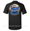 """HOT ROD WIRE-UP"" T-SHIRT - BLACK"