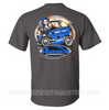 """HOT ROD WIRE-UP"" T-SHIRT - GREY"