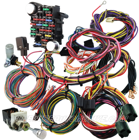 bluewire automotive wiring harnesses universal 20 circuit wire harness switch kit