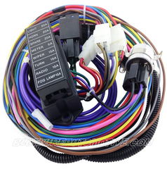 bluewire automotive wiring harnesses universal 8 circuit atc short harness