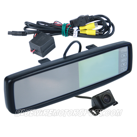 UNIVERSAL REAR-VIEW CLIP ON MIRROR & CAMERA