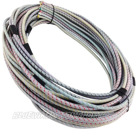 UNIVERSAL VINTAGE CLASSIC CLOTH WIRE HARNESS - ENGINE BAY