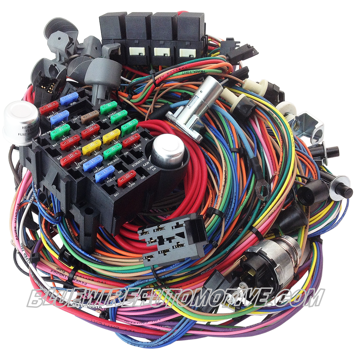 Bluewire Automotive - FORD F100 TRUCK 1967/72 COMPLETE CLASSIC UPDATE  SERIES WIRE HARNESS | Ford F100 Wiring Harness |  | Bluewire Automotive