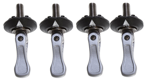 M6 Toggle Bolt Baseless Boot Hardware  (set of 4) - Black