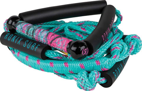 "Ronix Women's Bungee Surf Rope - 10"" Handle - 25ft 4 - Sect. Rope 