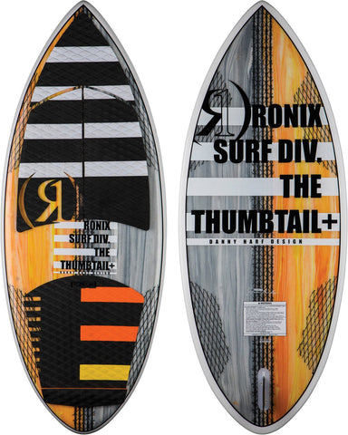 Koal w/ Technora - Thumbtail+ - Yellow / Grey / Paint Drip - 4'10""""