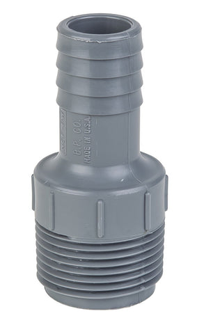 "Eight.3 - 1"" NPT Port Thread To 3/4"" Barb Fitting"