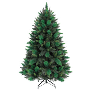 5ft Mixed Green Sparkling Pine