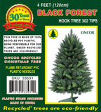 4ft Black Forest