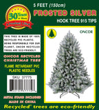 5ft Frosted Silver Fir