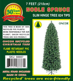 7ft Slim Noble Spruce