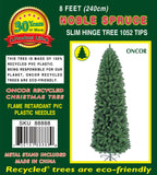 8ft Slim Noble Spruce