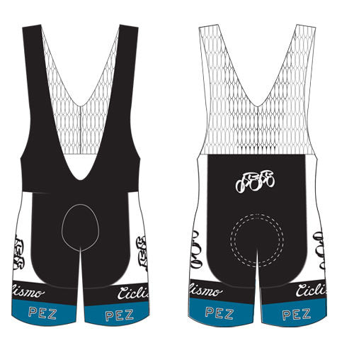 PezCycling Bibshorts - Retro60