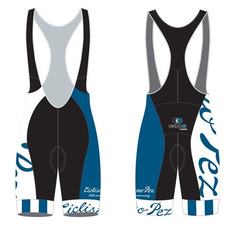 PezCycling Bibshorts - 10th Anniversary