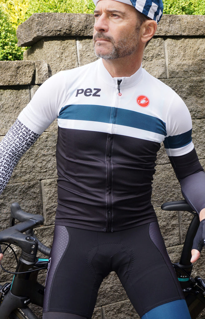 pezcycling modern classic podio jersey by castelli