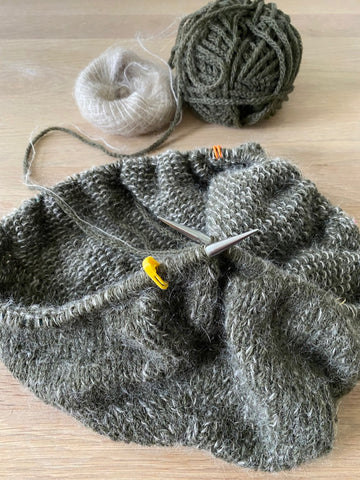 How to knit your first sweater