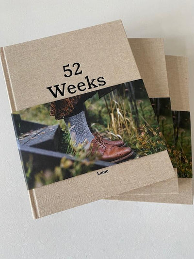 Strikkebog, 52 weeks of socks fra Laine magazine