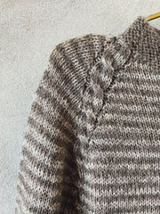 Asta sweater, Isager kit Knitting kits Önling - Katrine Hannibal