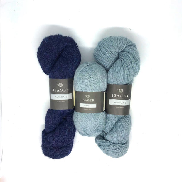 Asta sweater, Isager knitting kit