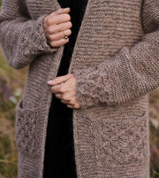 Beatrice cardigan, Isager knitting kit