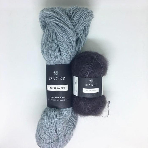 C2 (Cable 2) Sweater, Isager knitting kit