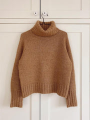 Caramel sweater by PetiteKnit, No 1 kit Knitting kits PetiteKnit