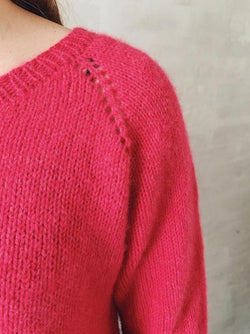 Chili ruffle sweater, No 1 kit Knitting kits Önling - Katrine Hannibal