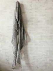 Cloud shawl, silk mohair knitting kit
