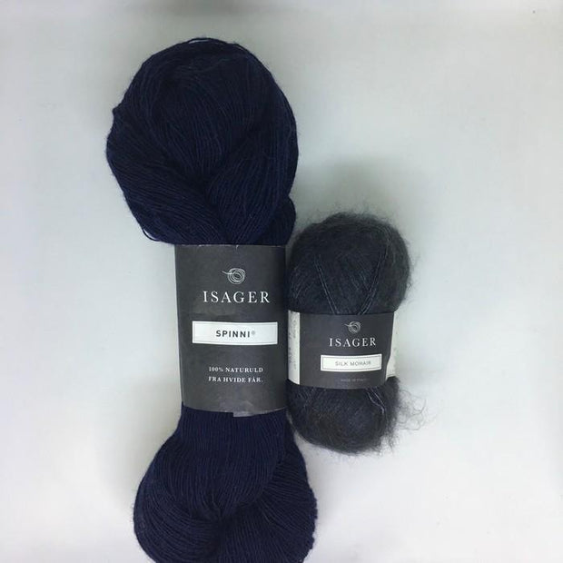 Coal hat, Isager knitting kit