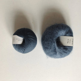 Coco Mohair Slipover, mono-color kit Knitting kits Önling - Katrine Hannibal