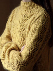Knitting pattern for Copenhagen Sweater designed by Yarn Lovers.