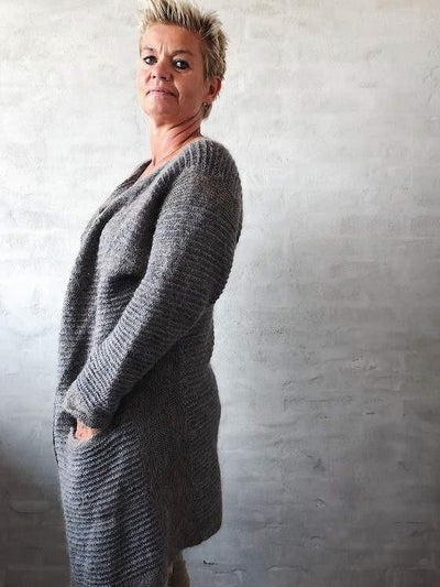 Dakkar cardigan, knitting Pattern Knitting patterns Önling - Katrine Hannibal