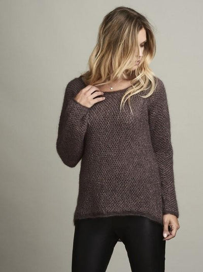 Damask sweater, Isager knitting kit Knitting kits Önling - Katrine Hannibal