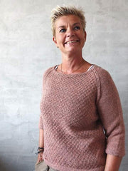 Dicte sweater, knitting pattern Knitting patterns Önling - Katrine Hannibal