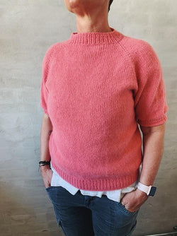 Easy Peasy Raglan Sweater - a beginner-friendly knitting box