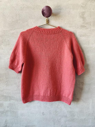 Easy Peasy Raglan Sweater, knitting pattern