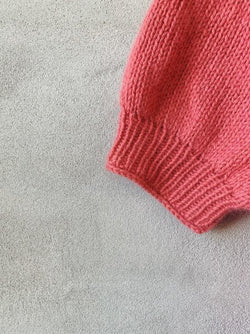 Beginner-friendly Easy Peasy Raglan Sweater, knitting pattern