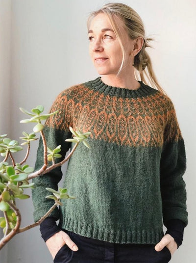 Gerdur, Icelandic Sweater, knitting pattern Knitting patterns Önling - Katrine Hannibal