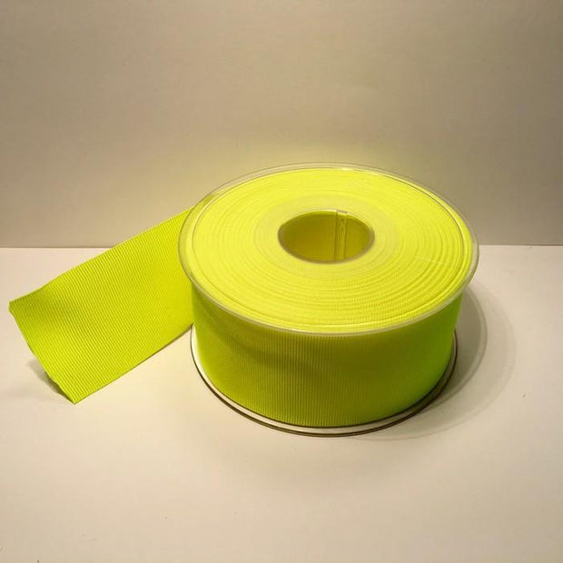 Grosgrain brand for you knitting project, here in Neon yellow
