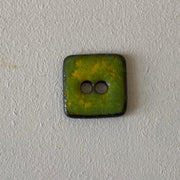 Hanne Falkenberg buttons, square, 25x25 mm Accessories Birthe Sahl Lime