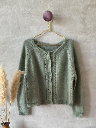 Hedvig cardigan, No 16 + Silk mohair kit Knitting kits Önling - Katrine Hannibal