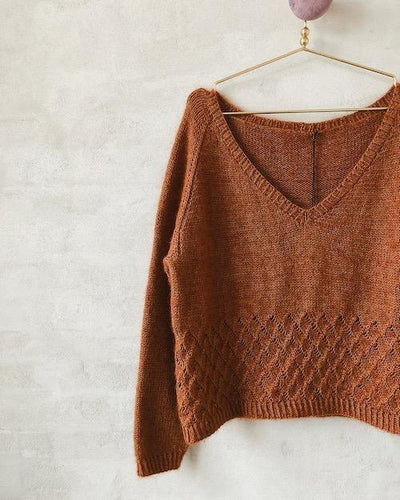 Knitting pattern for helena sweater from Önling