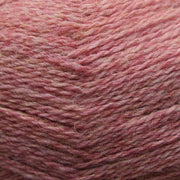 Isager Highland Wool yarn, the color Rose, made of 100 % Peruvian Highland Wool.
