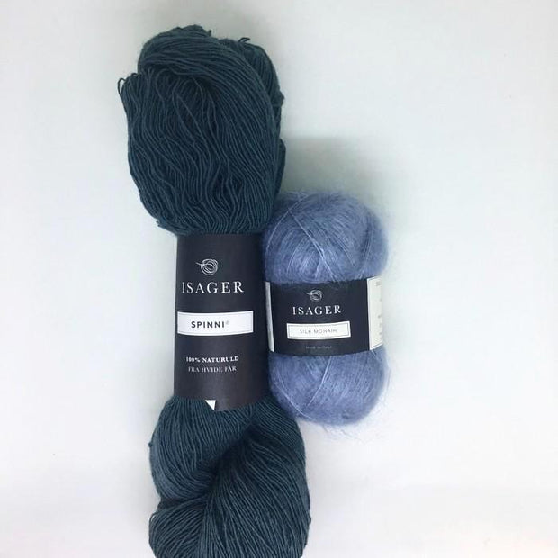 K (Knit) sweater, Isager knitting kit