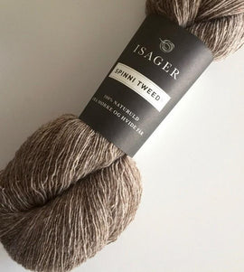 Isager Spinni wool yarn, color 7s beige