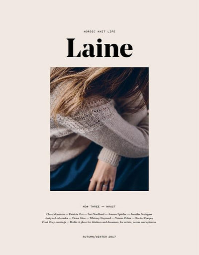 Laine Magazine No 3 - front page