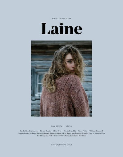 Laine Magazine No 7 - front page